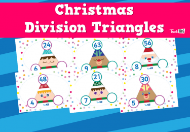 Christmas Division Triangles