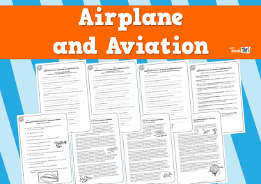 Airplanes and Aviation (10pg)
