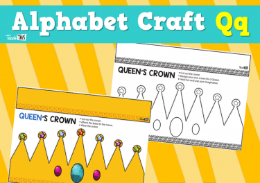 Alphabet Craft Qq