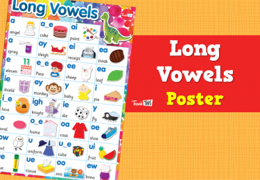 Long Vowels-Poster