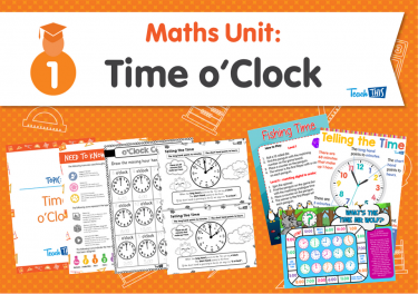 Maths Unit: Time o'Clock