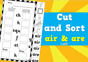 Cut and Sort - air & are