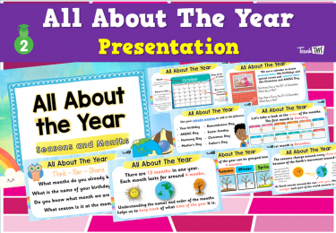 All About The Year - Presentation