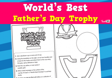 World's Best - Father's Day Trophy