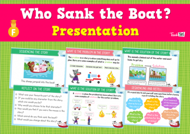 Who Sank the Boat? - Presentation