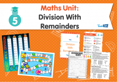 Maths Unit: Division With Remainders