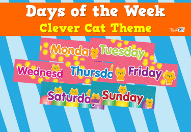 Days of the Week - Clever Cat Theme