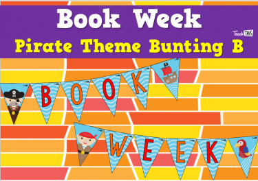 Book Week - Pirate Theme Bunting B