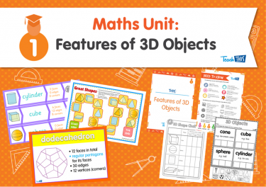 Maths Unit: Features of 3D Objects