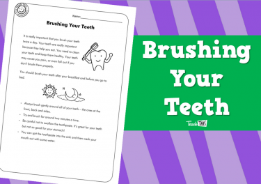 Brushing Your Teeth (2pg)