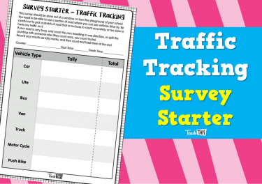 Tracking Traffic - Survey Starter