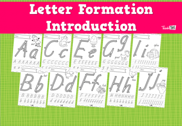 Letter Formation Introduction
