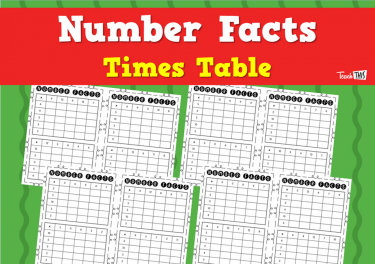 Number Facts - Times Table