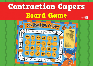 Contraction Capers - Board Game