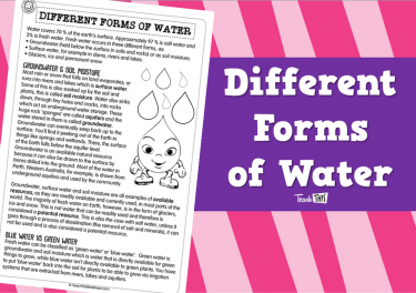 Different Forms of Water (pg2)
