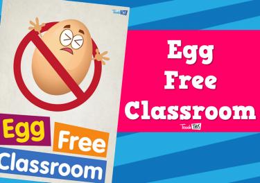 Egg Free Classroom