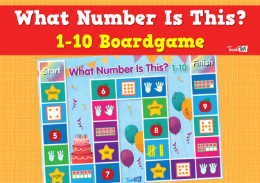 What Number Is This? 1-10 Boardgame