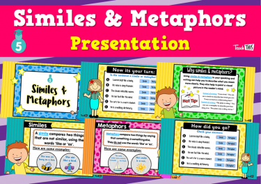 Similes & Metaphors  - Presentation