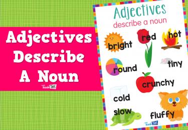 Adjectives Describe A Noun