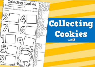 Collecting Cookies - Counting to 10