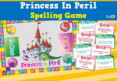 Princess In Peril - Spelling Game