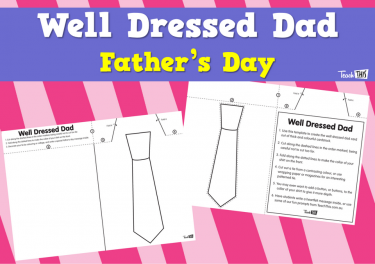 Well Dressed Dad - Father's Day