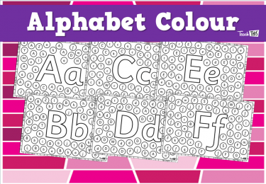 Alphabet Letter Recognition Bubbles