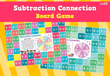 Subtraction Connection Game