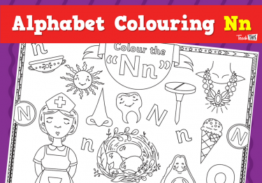 Alphabet Colouring Nn