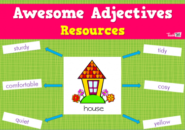 Awesome Adjectives Resources