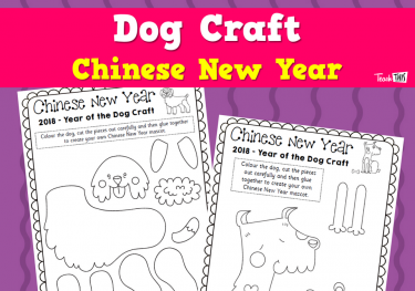 Chinese New Year - Dog Craft