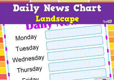 Daily News Chart - Landscape