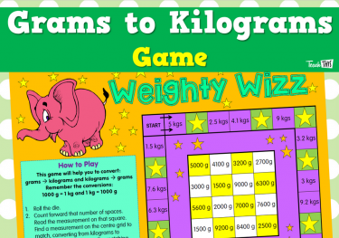 Grams to Kilograms Game