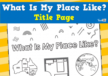 What Is My Place Like? - Title Page
