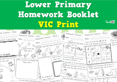 Lower Homework - VIC Print