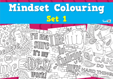 Mindset Colouring - Set 1