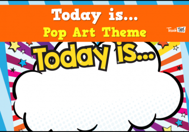 Pop Art - Today Is...