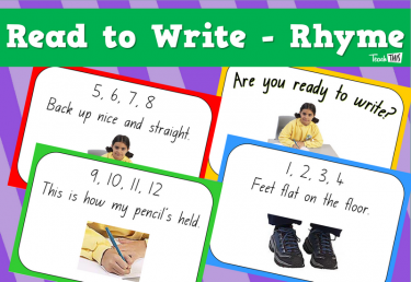 Ready to Write - Rhyme