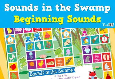 Sounds in the Swamp - Initial Sounds Board game