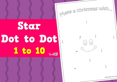 Star Dot to Dot - 1 to 10