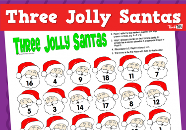 Three Jolly Santas