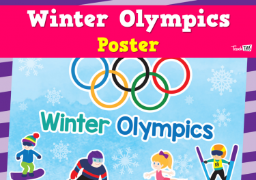 Winter Olympics Poster
