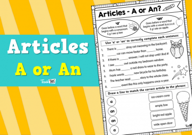 Articles - A or An