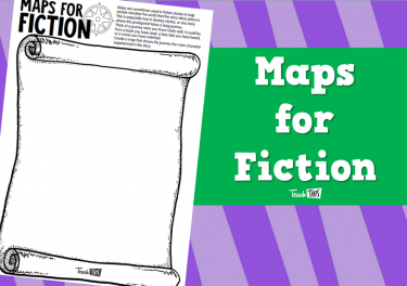 Maps for Fiction