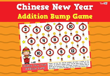 Chinese New Year - Addition Bump Game