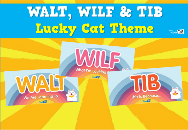 WALT, WILF & TIB  - Lucky Cat Theme
