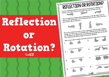 Reflection or Rotation