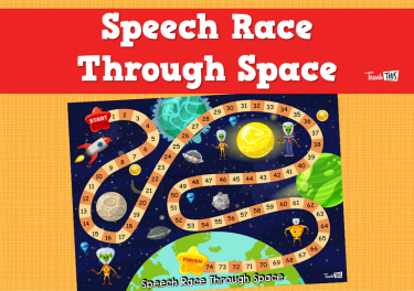 Speech Race Through Space