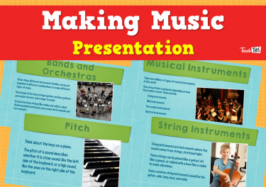 Making Music - Presentation