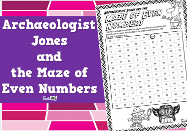 Archaeologist Jones and the Maze of Even Numbers